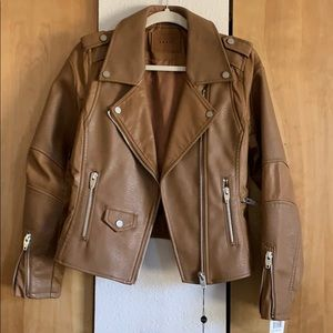 Tan Leather Jacket